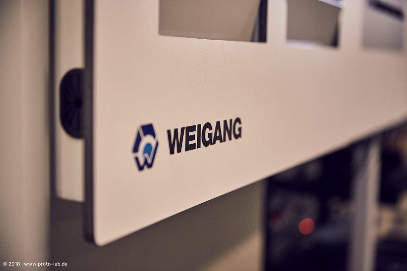 Digitale Plantafel von WEIGANG.