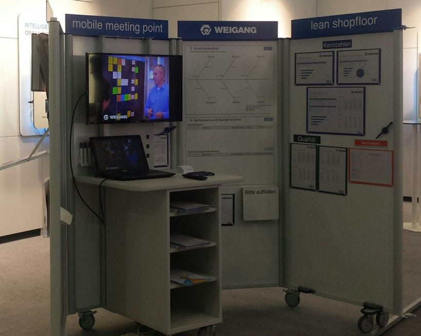 Picture of an mobile Meeting Point.