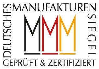 Das Siegel der Deutschen Manufakturen.