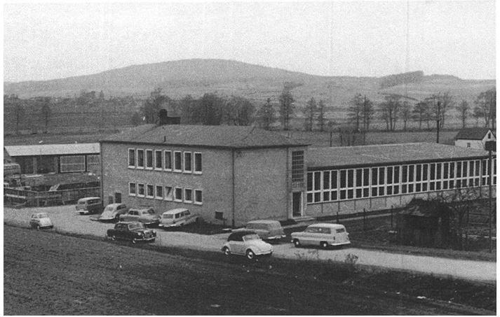 Historisches Firmengelände von 1957.