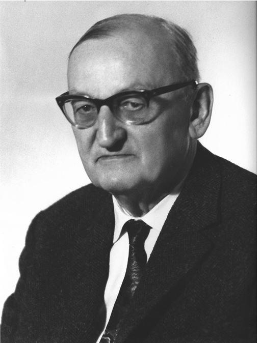 Bild des Firmengründers Georg Jahn Senior.