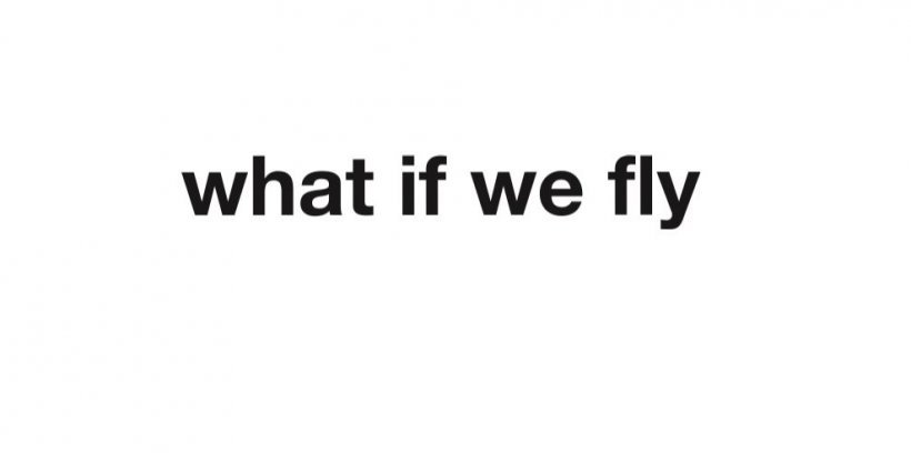 Logo what if we fly.