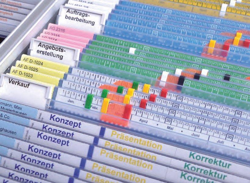 Image of pocket system Datoclip WEIGANG Ebern Germany.