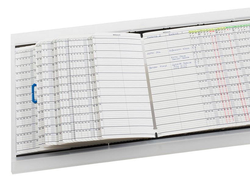 Bild eines Terminbuchs von WEIGANG Definitiv für medizinischen Bereich.