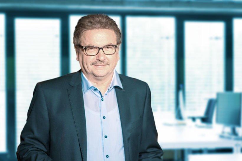Bild von Geschäftsführer Werner Biedermann.