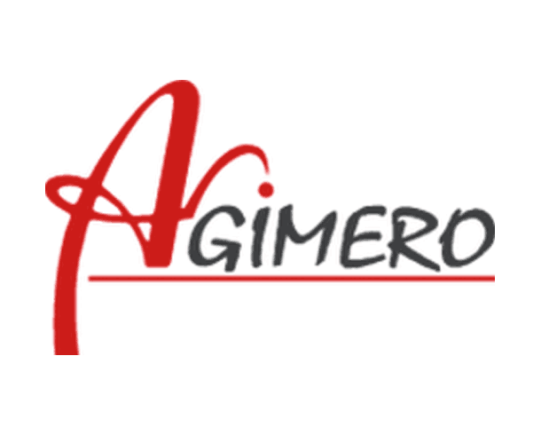 Logo of Agimero Karlsruhe Germany.
