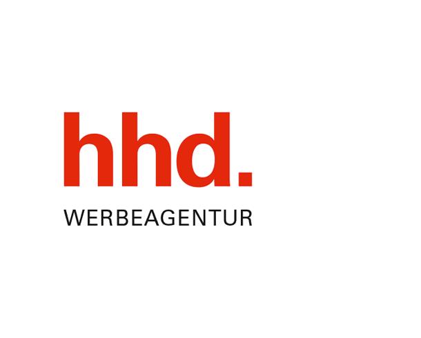 Logo of hhd Erlangen Germany.