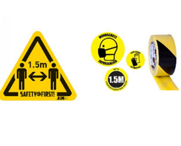 Different Safety signs.