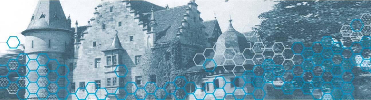 Image of historical premises Ebern Germany.