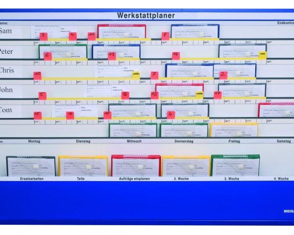 Der Werkstattplaner von WEIGANG.