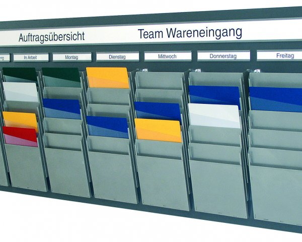 Bild des WEIGANG Teamboards.